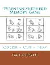 Pyrenean Shepherd Memory Game: Color - Cut - Play