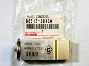 Genuine OEM Toyota Lexus 88515-28180 Expansion Valve IS F IS250 Highlander RX350
