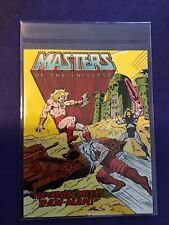 MOTU He-Man Meets Ram man comic 1982