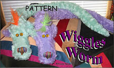 "Mohair/Plush ""Wiggles Worm"" the Pattern by Neysa A. Phillippi of Purely Neysa"