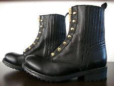ASH RACHEL Biker Boots Damen Stiefelette Stiefel Leder Schuhe Nieten Gr.37 NEU