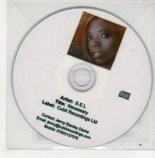 (GO750) S.E.L., Necessary - 2010 DJ CD