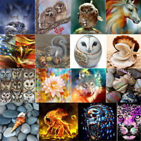 Full Drill DIY 5D Animals Diamond Painting Embroidery Cross Stitch Kits Craft
