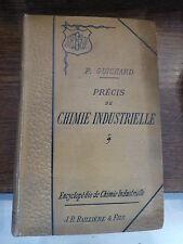 précis de chimie industrielle par P. Guichard - 1894