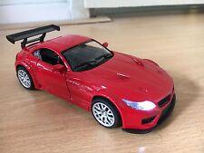 BMW Z4 Coupe E89 Bimmer red modellauto model car Welly diecast 1:34 light sound