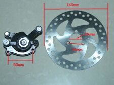 Electric Scooter Rear Disc Brake Caliper Kits 140mm Rotors For Mini Dirt Mini Ga
