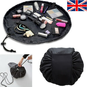 Portable Drawstring Makeup Toiletry Bags Storage Travel Pouch Cosmetic Bag Gifts