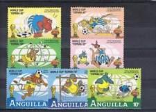 Serie Disney postfris MNH Anquilla: World cup Espana (dis034)