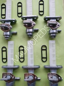 Suzuki TS100 TS125 TS185 TS250 RM100 TM125 Fuel Petrol Tap A1 UK MadMopeds