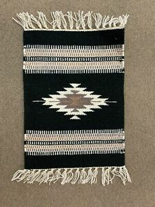 """Handwoven Wool Chimayo Style Placemats 15X20"""""""