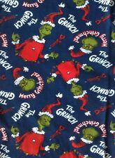 "Mens The Grinch Pyjama Bottoms/Christmas PJ's/Lounge Pants/Loungewear XL/39""-41"""