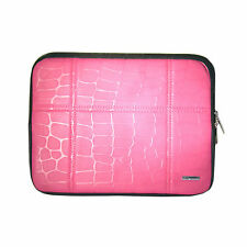 Pink Bubble Sleeve Soft Bag Interior Foam lining Cushions With Stand iPad 2/3/4