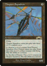 Thopter Squadron Exodus HEAVILY PLD Artifact Rare MAGIC GATHERING CARD ABUGames