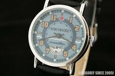 Pobeda Navy military style Russian submarine Komsovolets wrist watch Pobeda