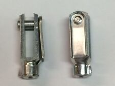 Clevis M5 G 6 x 24/M5 with snap lock pin zinc coated  QUANTITY-2