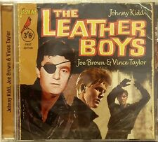 THE LEATHER BOYS (Johnny Kidd, Joe Brown & Vince Taylor) - 30 Tracks on Jasmine