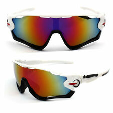 Sunglasses Red White Black Road Bike Cycling Aero Helmet Sun Glasses Time Trial