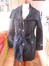 PA PERSONAL AFFAIRS Damenjacke 38 Trenchcoat schwarz Übergangsjacke Herbstjacke!