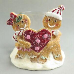 Yankee Candle GINGERBREAD VOTIVE HOLDER HEART | Tealight Christmas 2014
