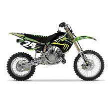 Monster Energy Kawasaki AMA FACTORY GRAPHICS KIT KX 85 2001 - 2013 Motocross