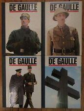"""De Gaulle """"En ce temps là"""" Editions du Hénnin, 1971 (4 Volumes)"""
