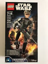 New LEGO STAR WARS BUILDABLE FIGURES 75119 SERGEANT JYN ERSO