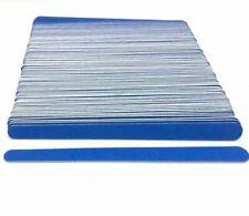 100pcs Nail File Wooden Polished Bar Strip Limas Para Manicure Sanding Sticks