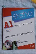 Echo (Nouvelle Version): Cahier Personnel D'Apprentissage + CD-Audio + Corriges