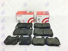 BREMBO FRONT REAR BRAKE PADS FOR MITSUBISHI LANCER 2.0 EVO EVOLUTION 7 8 9 FQ MR