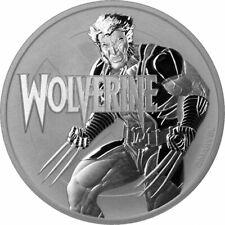 TUVALU 1 Dollar Argent 1 Once Wolverine 2021