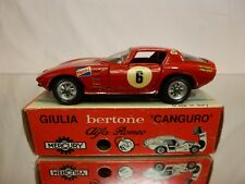 MERCURY 29 ALFA ROMEO GIULIA BERTONE CANGURO - RED 1:43 - GOOD CONDITION IN BOX