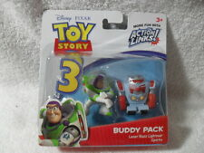TOY STORY 3 BUDDY PACKS 2 FIGURES ACTION LINKS LASER BUZZ LIGHTYEAR AND SPARKS