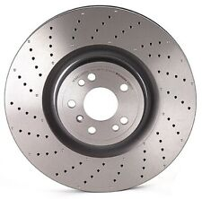 Brembo Front Left or Right PVT Coated Drilled Brake Disc Rotor For MB X166 W166