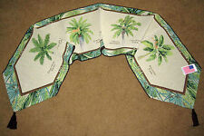 Palm Island ~ Palm Trees Tapestry Table Runner