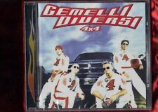 GEMELLI DIVERSI-4 X 4 CD NUOVO SIGILLATO