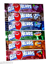 AIRHEADS CANDY - AIR HEADS TAFFY BARS - LOT OF 6 FLAVORS - Classic Candies