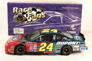 ACTION ~ JEFF GORDON ~ #24 DUPONT ~ COLOR CHROME ~ 1/24