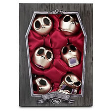 NIGHTMARE BEFORE CHRISTMAS JACK TREE ORNAMENTS  DISNEY  SET OF 6