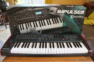 Clavier maître USB MIDI Novation impulse 49