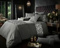 Luxurious Modern Designer Fancy Katie Bedding Duvet Set With Pillow Case