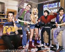 """The Big Bang Theory Reprint Signed 8x10"""" Cast Photo #2 RP Autographed"""