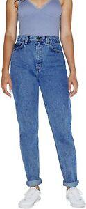 American Apparel Women's High-Waist High Rise Slim Fit Medium Wash Jeans Size 29
