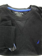 Nautica Men's Sleepwear, Ls Shirt Anthracite Dark Gray Size M Item Ms55