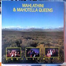 MAHLATHINI & MAHOTELLA QUEENS LP PARIS SOWETO 1988 UK VG++/VG++ OIS