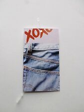 Hang Tags Boutique Tags Price Tags 100 Xoxo And Jeans W/Plastic Loop Pins