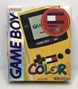 Game Boy Color Limited Edition Tommy Hilfiger Console Box Only *No Console*