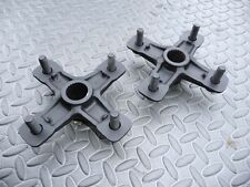 2 x YAMAHA Banshee Raptor YFZ450 REAR axle hubs left right back BLACK 1987-2006