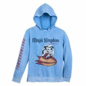 Goofy Tomorrowland Hoodie for Boys by Junk Food – Walt Disney World Size M 7/8
