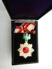Order of the Rising Sun 3rd Clas + original box. RARE ORIGINAL