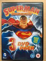 Tutti Stella Superman Box DVD Set Last Son Of Krypton Little Pezzi Casa Animato
